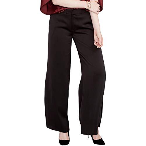 RACHEL Rachel Roy Womens Classic Fit Side Slit Wide Leg Pants