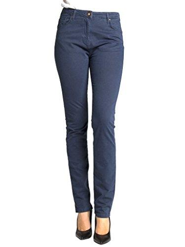 tinta 753 vestibilit tessuto modello Pantalone unita per dritto Carrera Jeans gabardina donna 0W7ROfBf