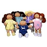 Cabbage Patch Kids 25th Anniversary Doll - Caucasian Girl with Dark Brown Hair