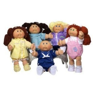Cabbage Patch Kids Anniversary - Cabbage Patch Kids 25th Anniversary Doll - Caucasian Girl with Dark Brown Hair