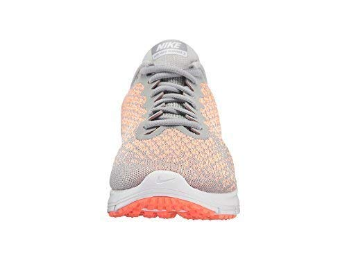 Nike Air Max Sequent 2 Wolf Grey/White/Bright Mango/Sunset Glow Women's Running Shoes 5.5 by Nike (Image #1)