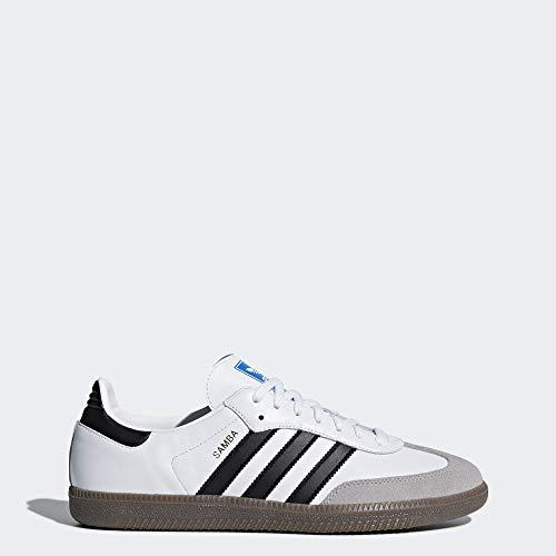 adidas Originals Men's Samba OG Sneaker, White (Samba White Adidas)