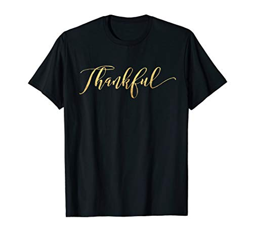 (Happy Thanksgiving Turkey Day Thankful Boutique T-Shirt)