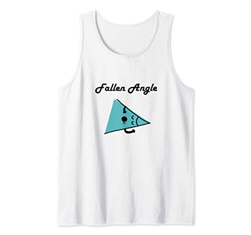 Cute and funny Fallen Angel...Angle  Tank Top