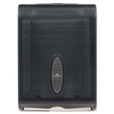 (GPC5665001 - GPreg; 566-50/01 Translucent Smoke Combination C-Fold or Multifold Paper Towel Dispenser)