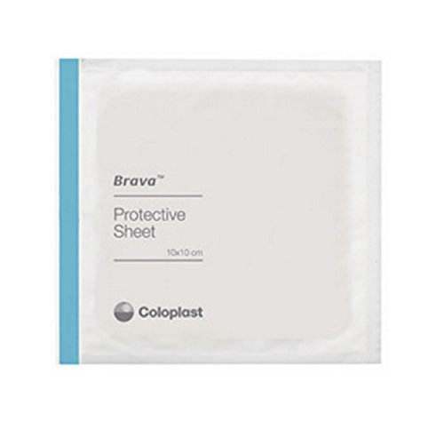 Coloplast Skin Barrier Protective Sheets 4 x 4