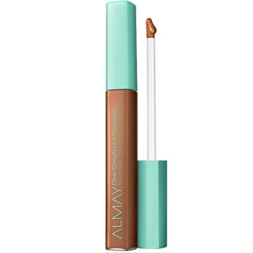 Almay Clear Complexion Concealer, Hypoallergenic, Cruelty Free, Oil Free, Fragrance Free, Dermatologist Tested, with Aloe and Salicylic Acid
