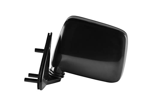 Driver Side Unpainted Side View Mirror for 1986-1994 Nissan D21, 1987-1995 Nissan Pathfinder, 1995-1997 Nissan Pickup