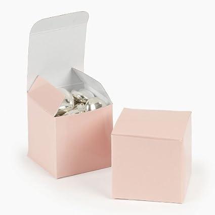 cb823128 Amazon.com: Mini Light Pink Gift Boxes (2 dz): Home & Kitchen