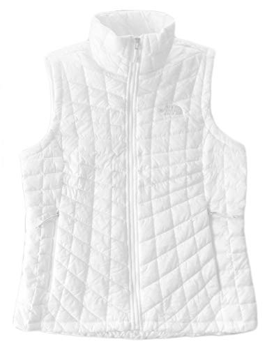 (The North Face Women's Thermoball Insulated Vest (X-Large, TNF White))