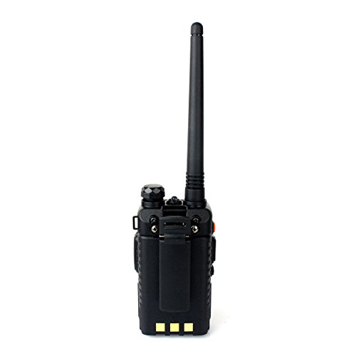 Retevis RT-5RV Walkie Talkies 5W 128CH Dual Band VHF/UHF 136-174/400-520 MHz VOX CTCSS/DCS FM Ham Radio with Earpiece (10 Pack) and Speaker Mic (10 Pack) by Retevis (Image #3)'