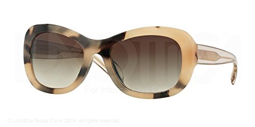 Burberry Sunglasses BE4189 350213 Light Horn Brown Gradient 54 20 - Oversized Sunglasses Burberry