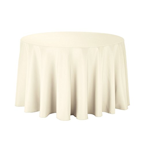 Round Cover Table Ivory (Gee Di Moda Tablecloth - 108