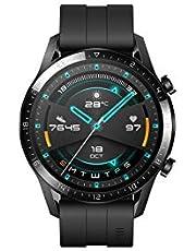 ساعة هواوي جي تي 2، النسخة الرياضية، 46 ملم، اسود مطفي