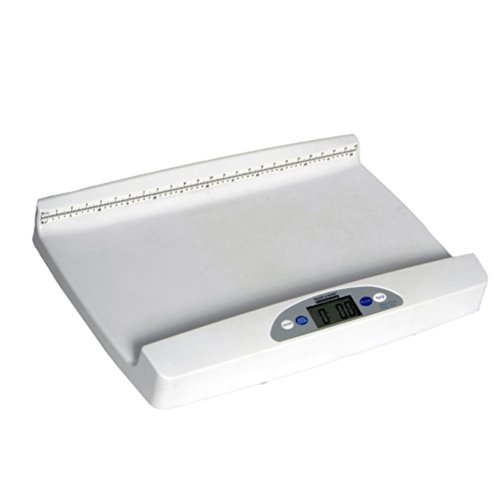 - Health o meter 553KL Digital Portable Pediatric Baby Scale with Extra-Wide Tray, 44 lb x 0.5 oz.