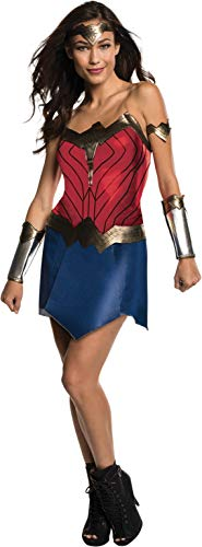 Superman Womens Costume (Rubie's Men's Wonder Woman Costume, Batman v Superman: Dawn of Justice,)