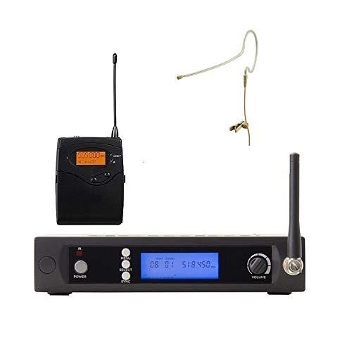 Bolymic BL-3100 UHF Wireless Single Earset Microphone Beige Omnidirectional Earset Headworn mic