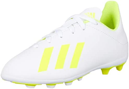 Adidas X 18.4 FxG J, Boys' Shoes, White