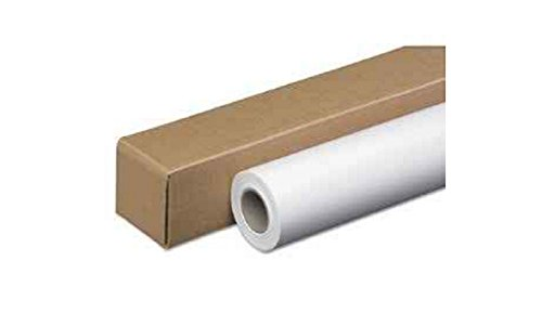 24 lb Coated Bond Wide Format Paper rolls 24'' x 150' use with VariQuest Perfecta 2400 & Perfecta 3600 STP - by Bright White Paper Co.