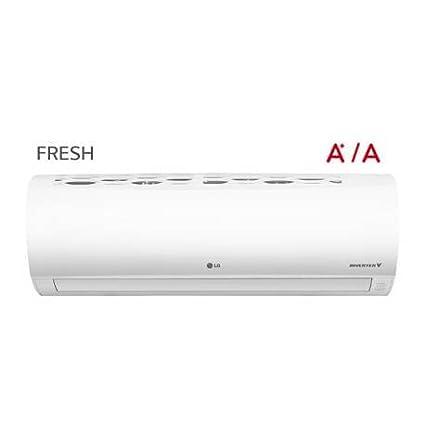LG - Aire acondicionado Split 1x1 Inverter FRESH12.SET con 3.010 frig/h y 3.268