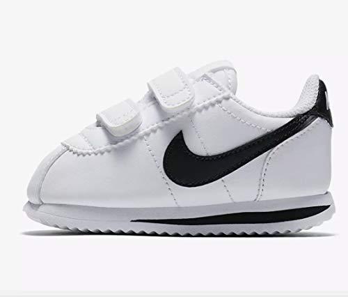 931b90f308b0 Nike Cortez Basic SL Toddler s Shoes White Black 904769-102 (10 M US)