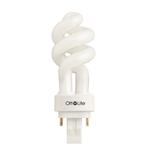 Ott lite b84j36 plug in swirl compact light bulb 13 watt import it all Ott light bulb