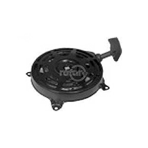 Recoil Starter Assembly Replaces Briggs & Stratton 497680. Fits Models 099772 Series Vertical Shaft Engines.