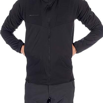 Mammut Herren Isolations-jacke Rime Light Flex, schwarz, XL 6