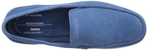 Rockport BL 3 VENETIAN - mocasines de cuero hombre azul - Blau (CAMEO BLUE WSH SDE)
