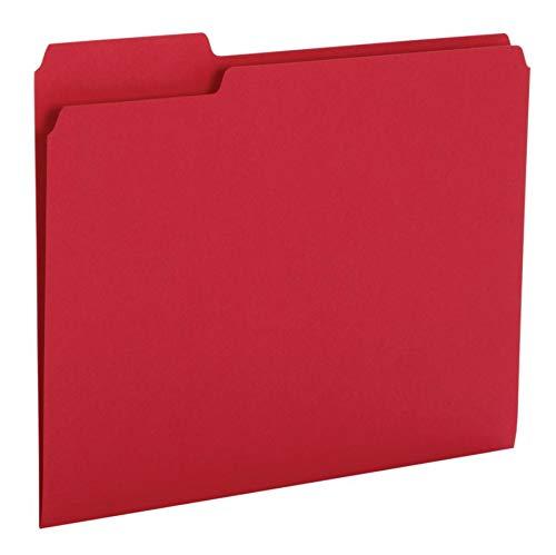 Office Depot Brand Heavy-Duty Top-Tab File Folders, 3/4