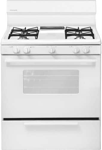 "Amazon.com: Frigidaire FFGF3005MW30"" White Gas Open Burner ..."