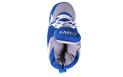 Sneaker Comfy Feet Lions Slippers Mens NFL Happy Detroit OFFICIALLY Womens LICENSED Feet and rzwRrqH