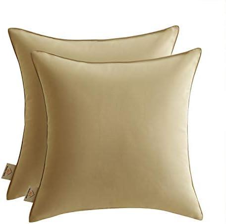 Joyaco Outdoor Pillow Covers 18×18 Waterproof