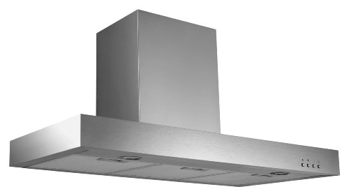 Ancona Rectangle Stainless Steel 600 CFM Wall Mount Range Hood, 36-Inch