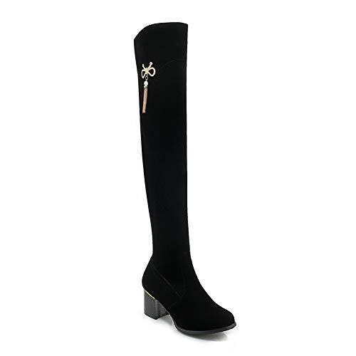 36 Sandales Noir Balamasa 5 Noir Compensées Femme Abl12019 UqWPnA