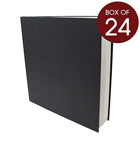 Artway Studio - Skizzenbücher mit festem Einband - 170 g m² Papier - Großhandelspackung - 195 mm (Quadrat-Format) - 24 Stück  24 x Quadrat 285mm