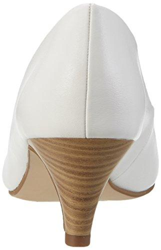 Tamaris 22445, Escarpins Femme, Graphite Street, 36 EU Blanc (White Matt 108)