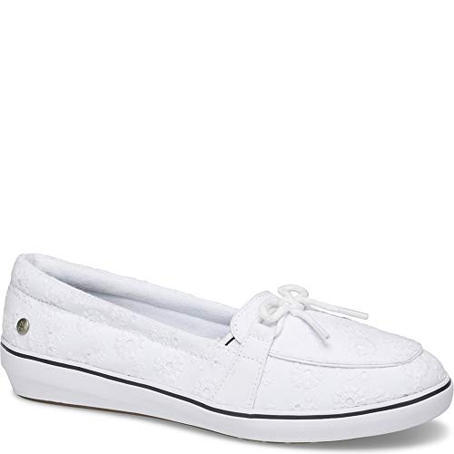 - Grasshoppers Women's, Windsor Slip On White 7 W