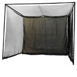 Golf Hitting Cage 10 x 10 x 10 3/4 inch with net and screen