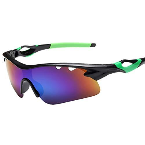 (Polarized Sports Sunglasses for Men Women Baseball Running Cycling Fishing Driving Golf Softball Hiking Sun Glasses)