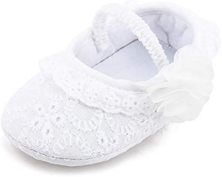5e45c1722c543 Delebao Baby Girl Christening Shoes Infant Mary Jane Baptism Shoes ...