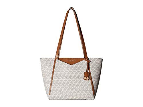 Michael Kors Womens M Tote Group Sm Tz Tote Tote White (Vanilla) (Michael Kors Vanilla Handbags)