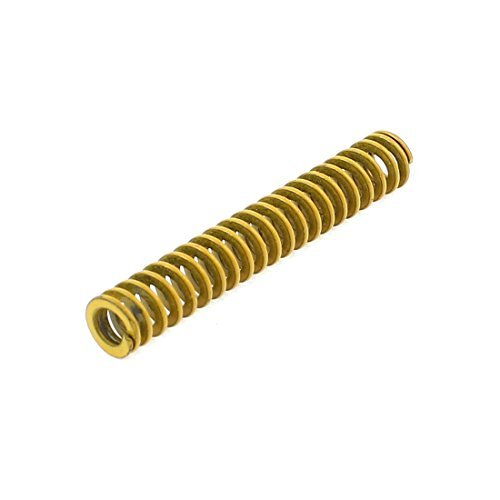 6 mm x 3 mm x 35 mm chroom gelegeerd staal compressie The Spring Yellow