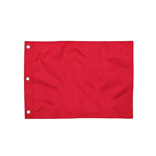 KINGTOP 13''x 20'' Golf Pin Flags, Red by KINGTOP