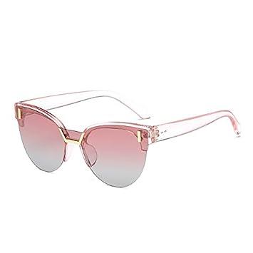 LiquanShop Nuevas gafas de sol polarizadas Sra. Half Frame ...