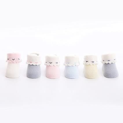 Kimjun Babysocken Baby Socken M/ädchen Jungen Socke Neugeboren Babys/öckchen Warm Baumwolle S/öckchen 0-12 Monate