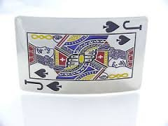 [Jack of Spades Belt Buckle - Free Shipping] (Spade Buckle)