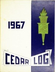 (Custom Reprint) Yearbook: 1967 Cedar Cliff High School - Cedar Log Yearbook (Camp Hill, PA)