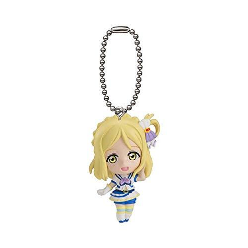 - Gashapon Love Live! Sunshine!! Swing 1.5 inch keychain Mini Figure Part 4 : Mari Ohara