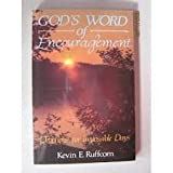 God's Word of Encouragement, Kevin E. Ruffcorn, 0806624205